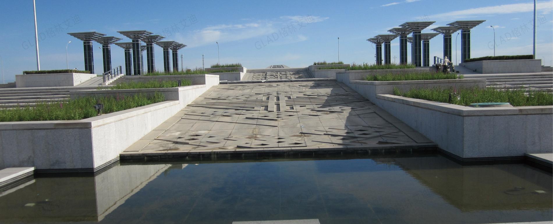 鄂托克前旗人民廣場景觀規劃設計